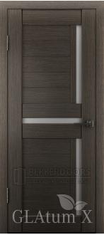 Дверь ПО GLAtum X16 Серый дуб