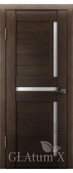 Дверь ПО GLAtum X16 Венге
