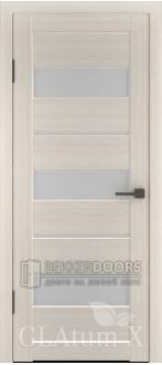 Дверь ПО GLAtum X23 Беленый дуб