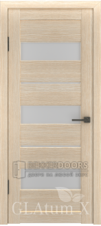 Дверь ПО GLAtum X23 Капучино