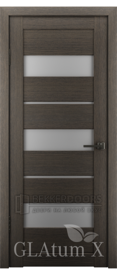 Дверь ПО GLAtum X23 Серый дуб