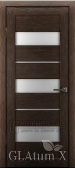 Дверь ПО GLAtum X23 Венге