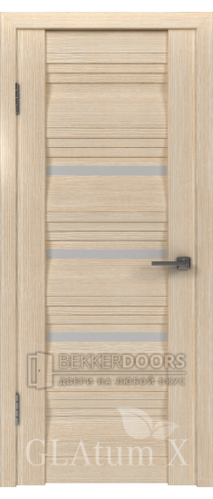 Дверь ПО GLAtum X31 Капучино