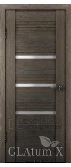 Дверь ПО GLAtum X31 Серый дуб
