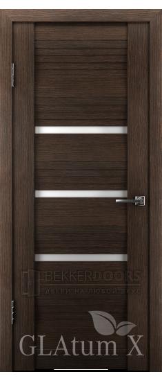 Дверь ПО GLAtum X31 Венге