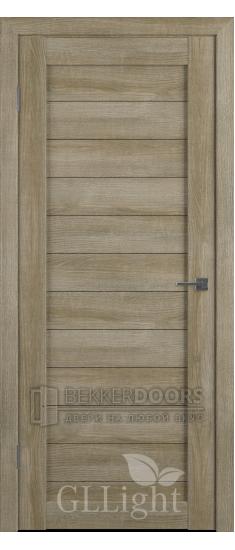Дверь ПГ GLLight 6  Мокко