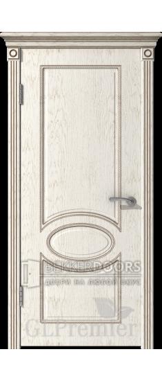 Дверь ПГ GLPremier 11  Слоновая кость