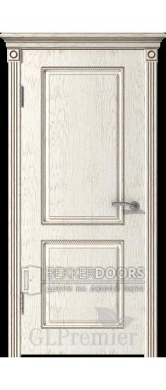 Дверь ПГ GLPremier 21  Слоновая кость