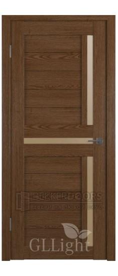 Дверь ПО GLLight 16  Корица