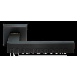 Дверная ручка HORIZONT BLACK матовая черная бронза