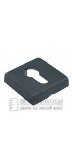 Накладка на цилиндр LUX-KH-Q BLACK матовая черная бронза