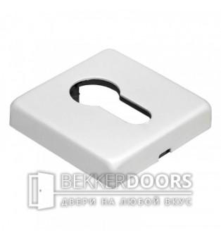 Накладка на цилиндр LUX-KH-SQ BIA белый