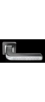 Дверная ручка DIY MH-46 GR/CP-S55 GR/CP-S55 графит/полированный хром