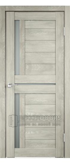 Дверь DUPLEX 3 Дуб шале седой