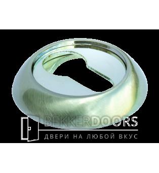 Накладка на цилиндр MH-KH SN/CP белый никель/полированный хром