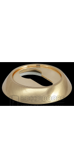 Накладка на цилиндр MH-KH SG/GP матовое золото/золото