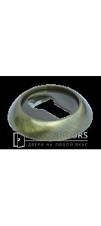 Накладка на цилиндр MH-KH AB  античная бронза
