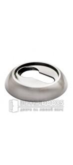 Накладка на цилиндр MH-KH SN/BN белый никель/черный никель