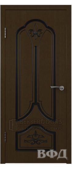 Дверь 31ДГ4 Карина Венге