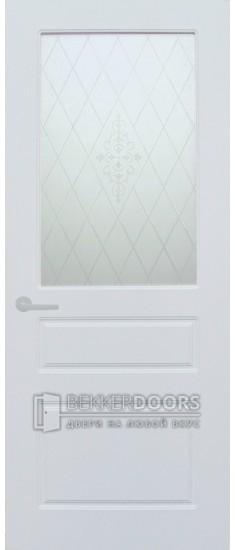 Дверь Честер ПО Эмаль белая