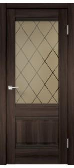Дверь ALTO 2V ПО  Орех каштан