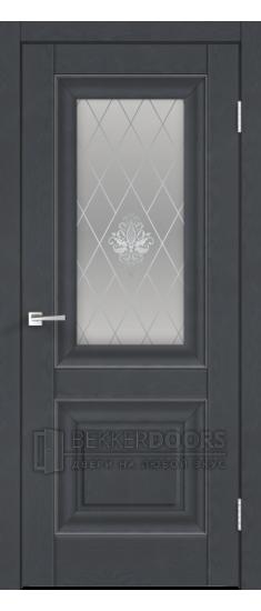 Дверь ALTO 7 ПО  Ясень графит