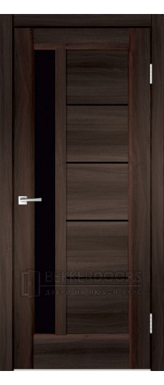 Дверь PREMIER 3 ПО  Орех каштан