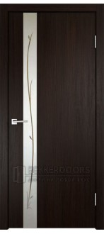 Дверь SMART Z1 зеркало Венге