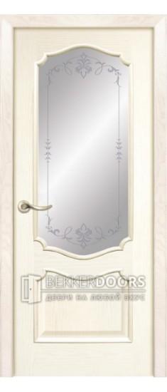 Дверь  Тампа ПО  Ясень карамель