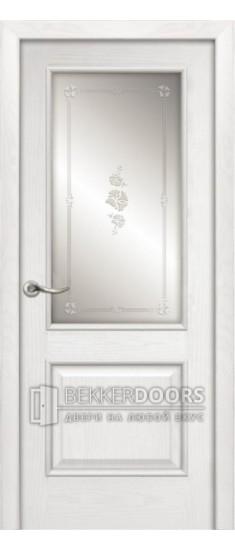 Дверь  Твинс ПО  Ясень бланко