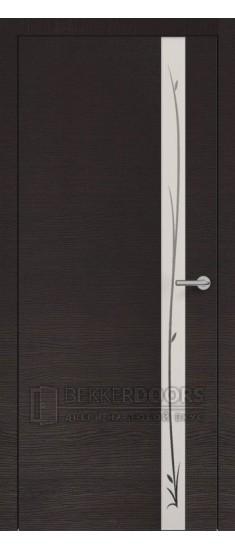 Дверь ПО H-2  Окаша венге