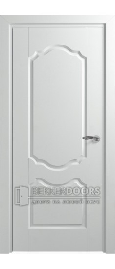 Дверь Орхидея ДГ Белоснежный