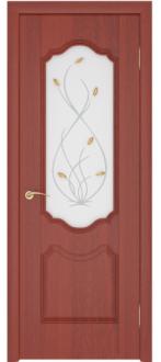 Дверь Орхидея ДО Итальянский орех
