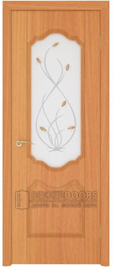 Дверь Орхидея ДО Миланский орех