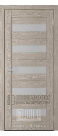 Дверь Модерн 6 ПО Седой