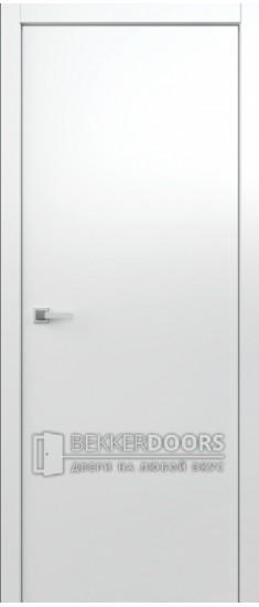 Дверь Гладкое полотно ПГ Белый снег
