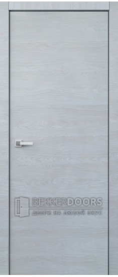 Дверь Гладкое полотно ПГ Мрамор светлый