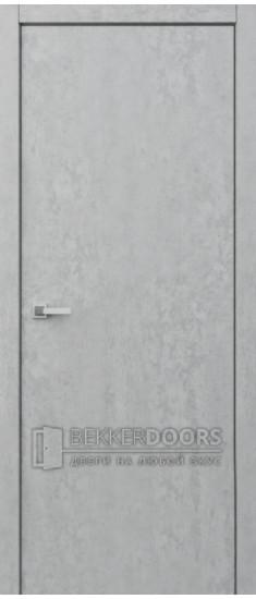 Дверь Гладкое полотно ПГ Велюр серебряный
