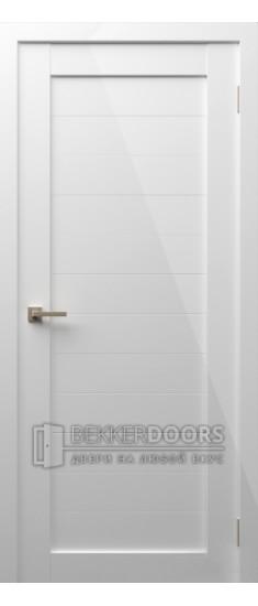 Дверь Модерн 5 ПГ Белый глянец