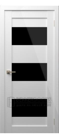 Дверь Модерн 7 ПО Белый глянец