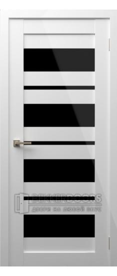Дверь Модерн 9 ПО Белый глянец