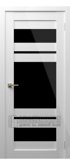 Дверь Модерн 10 ПО Белый глянец