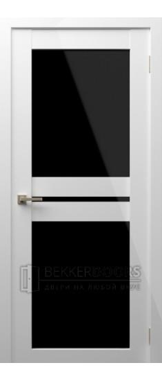 Дверь Модерн 11 ПО Белый глянец