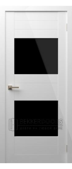 Дверь Модерн 13 ПО Белый глянец