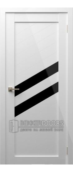 Дверь Модерн 16 ПО Белый глянец