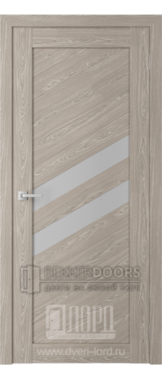 Дверь Модерн 16 ПО Седой