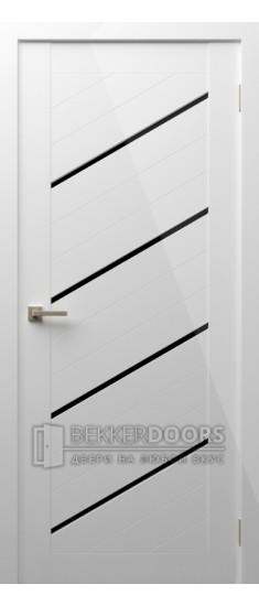 Дверь Модерн 17 ПО Белый глянец