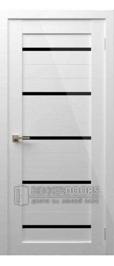 Дверь Модерн 1 ПО Белый глянец