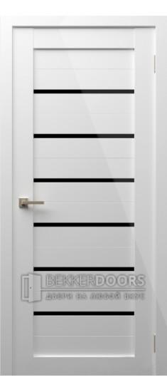 Дверь Модерн 2 ПО Белый глянец