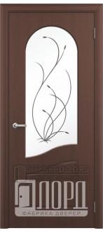 Дверь Анастасия ПО Черный орех